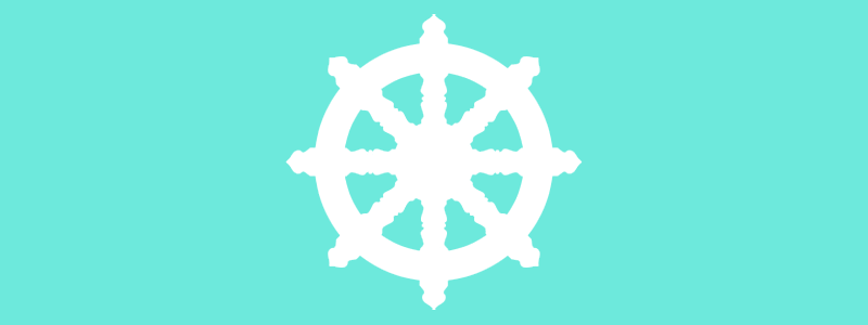 Buddist Dharma Wheel icon
